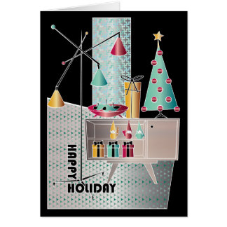 Christmas Retro Tree Card