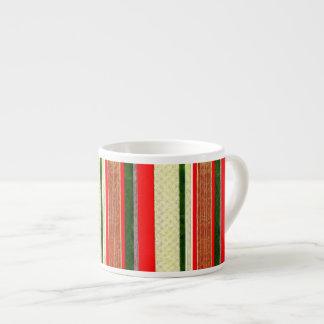 Christmas Ribbon Espesso Coffee Mug