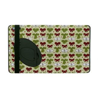 Christmas Ribbons & Bows iPad Folio Case