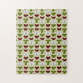 Christmas Ribbons & Bows Puzzles