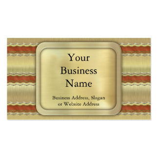 Christmas Ribbons Business Cards
