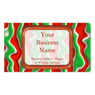 Christmas Ripples Business Card
