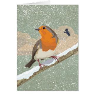 Christmas Robin Greeting Cards