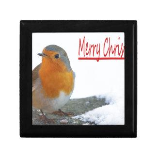Christmas Robin Gift Box