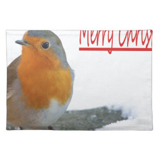 Christmas Robin Placemat