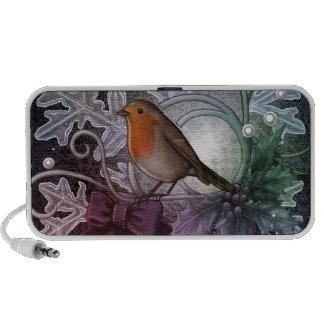 Christmas Robin Travel Speaker
