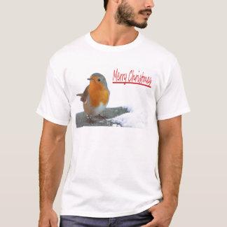 Christmas Robin T-Shirt
