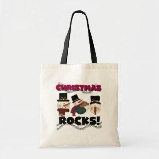 Christmas Rocks T-shirts and Gifts Tote Bag