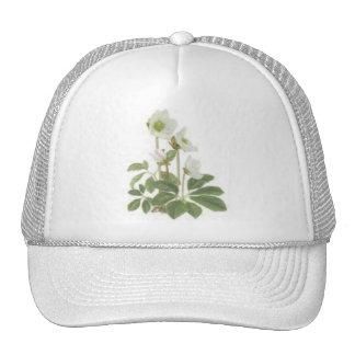 Christmas rose mesh hats