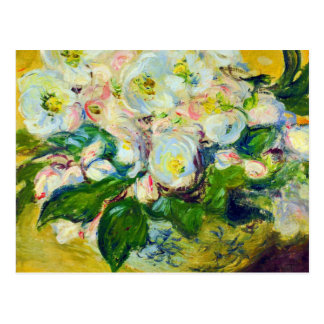 Christmas Roses Impressionism Bridal Shower Postcard