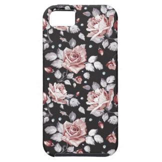 christmas roses vintage flowers iphone 5 case