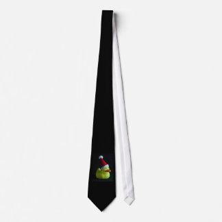 Christmas Rubber Duck Tie
