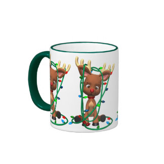 Christmas Rudolph the Red Nosed Reindeer Coffee Mugs
