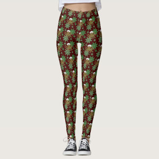 Christmas sailor octopus leggings