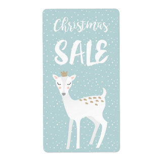 Christmas Sale Label Shipping Label