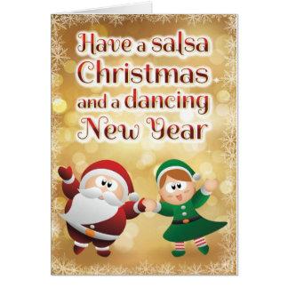 Christmas Salsa Card