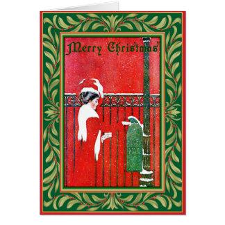 Christmas Salutations Card