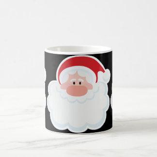 Christmas Santa Basic White Mug