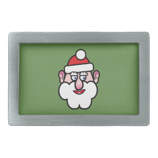 Christmas Santa Claus 1.0 Belt Buckles