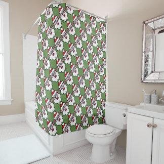 Christmas Santa Claus 1.2.2 Shower Curtain