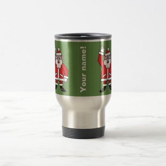 Christmas Santa Claus 2.4.P.3 Travel Mug