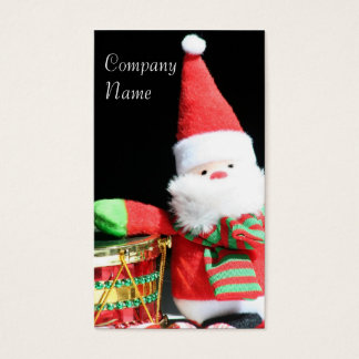 Christmas Santa Claus business cards