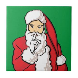 Christmas Santa Claus Ceramic Tile