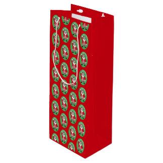 Christmas Santa Claus HO HO HO! 4.0.4 Wine Gift Bag