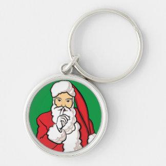 Christmas Santa Claus Key Ring