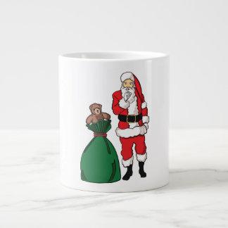 Christmas Santa Claus Large Coffee Mug