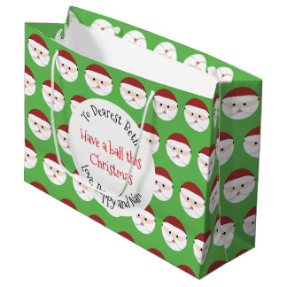 Christmas Santa Claus Large Gift Bag