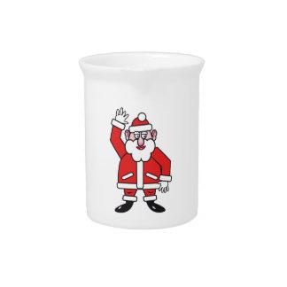 Christmas Santa Claus Pitcher