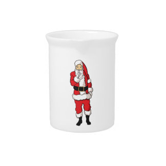 Christmas Santa Claus Pitcher
