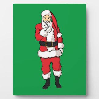 Christmas Santa Claus Plaque