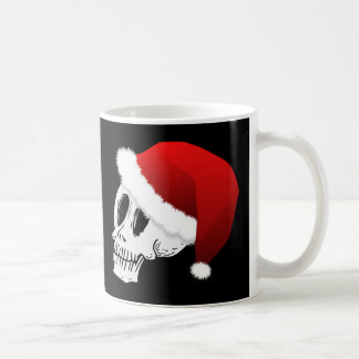 Christmas Santa Claus Skull Coffee Mug