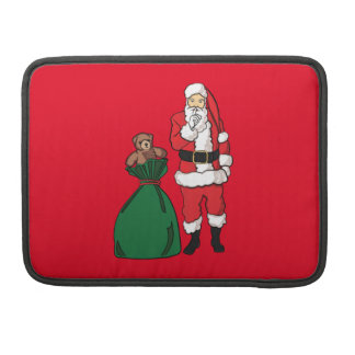 Christmas Santa Claus Sleeve For MacBook Pro