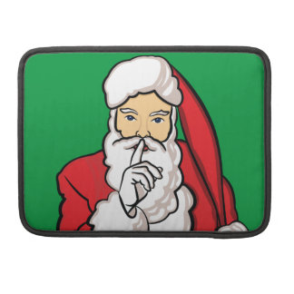 Christmas Santa Claus Sleeve For MacBooks