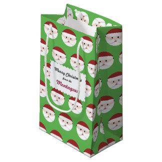 Christmas Santa Claus Small Gift Bag