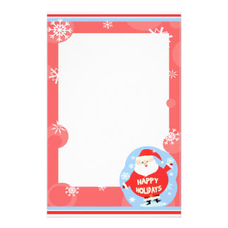 Christmas Santa Claus Stationery
