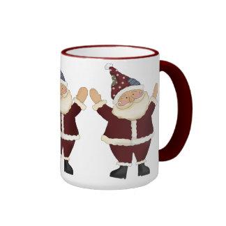 Christmas Santa coffee mug