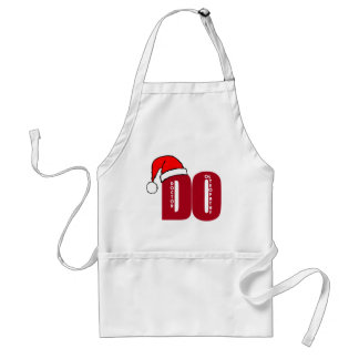 CHRISTMAS SANTA DO - DOCTOR OF OSTEOPATHY ADULT APRON