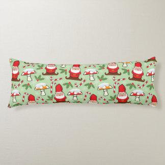Christmas Santa Gnomes Design Body Cushion