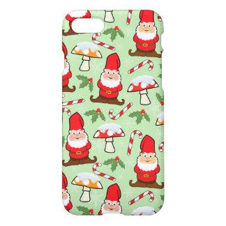 Christmas Santa Gnomes Design iPhone 8/7 Case