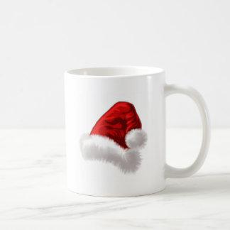 Christmas Santa Hat Art Coffee Mug