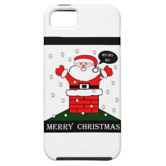 Christmas Santa Ho Ho Ho iPhone 5 Covers