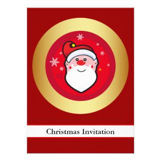 Christmas Santa Invitation