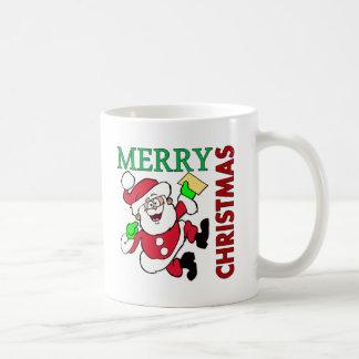 Christmas Santa Coffee Mugs