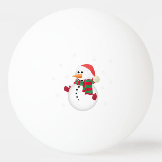 Christmas Santa Ping Pong Ball