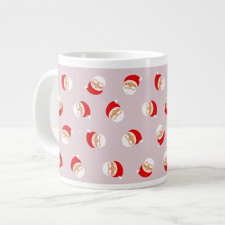 Christmas Santa Pink Girly Lovely Cute Charming Large Coffee Mug