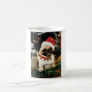 Christmas Santa Pug Mug